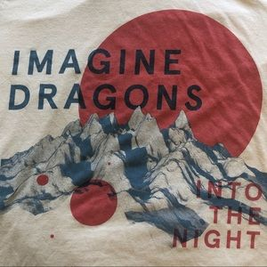 Imagine Dragons Size S 2014 Into the Night Tour